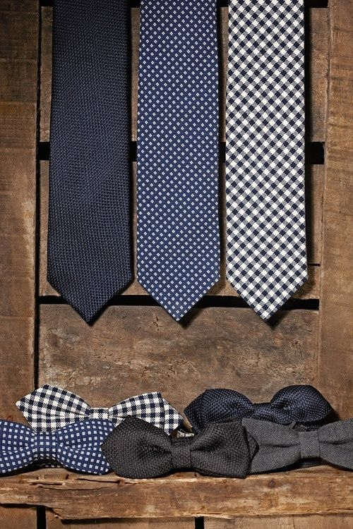 Essentials for every man's closet - three go-to ties that go with almost anything!