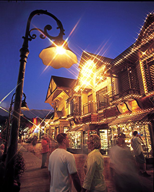 One great city to check out in the South is Gatlinburg, Tennessee. Here is a shot of Downtown Gatlinburg at night. There are tons of fun activities and nightlife for travelers to take advantage of on their next trip or vacation.