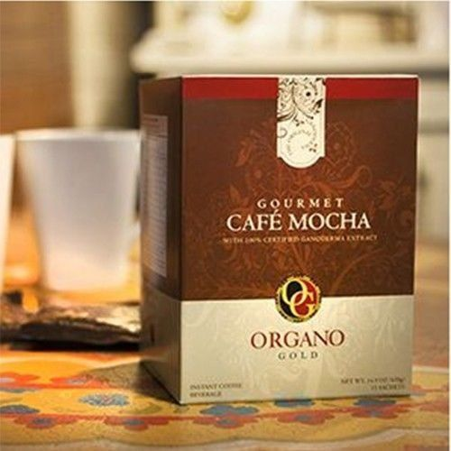 6 Boxes Organo Gold Gourmet Cafe Mocha with Ganoderma Lucidum Extract  Free 6 Sachets Gano Excel Ganocafe Mocha Coffee ** Continue to the product at the image link.
