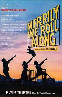 Merrily We Roll Along with Altarena Playhouse in Alameda California.