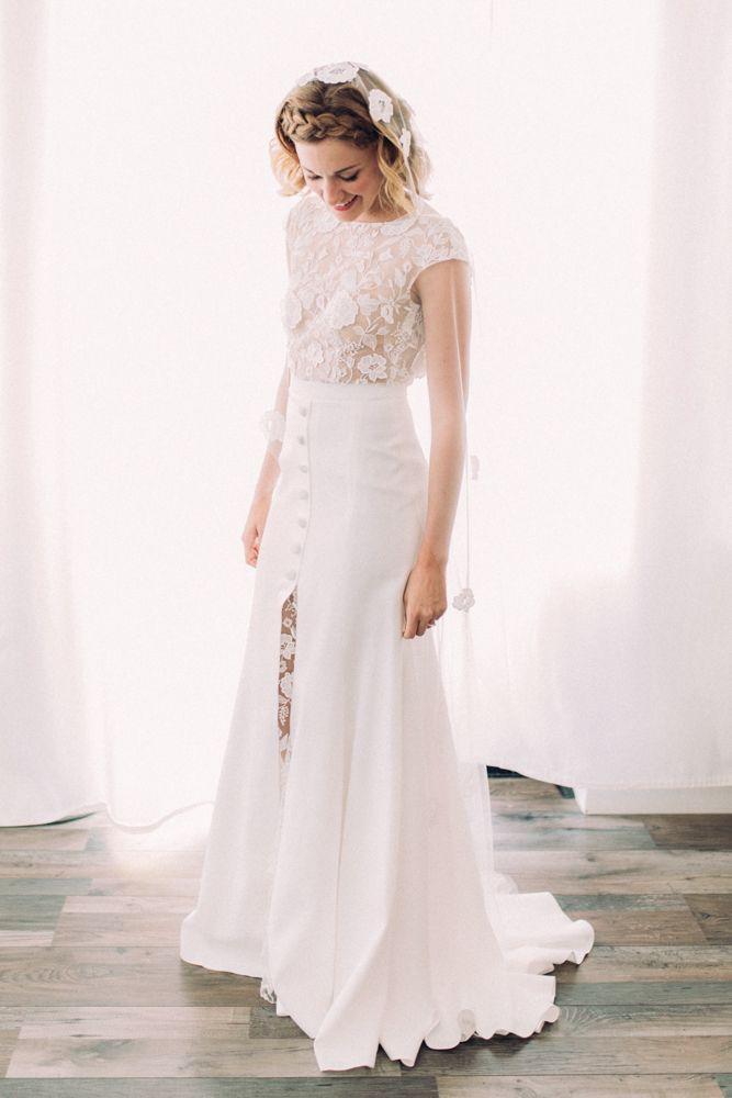 Rime Arodaky Bride Wedding La Dime De Giverny France Images Juli Etta The Modern Dresses Gowns Pinterest And Weddings