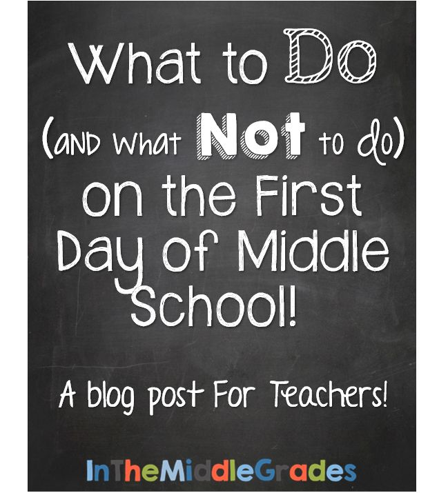 Whether you're a new teacher, new to middle school, or just pressing the reset button for the year, I hope you find some new and different things to think about because, well, I'm somewhat opinionated! :) By: Erin Cobb