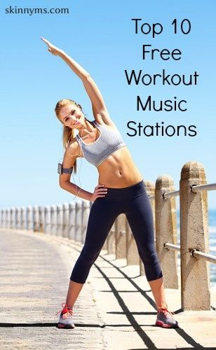 Top 10 Free Workout Music Stations