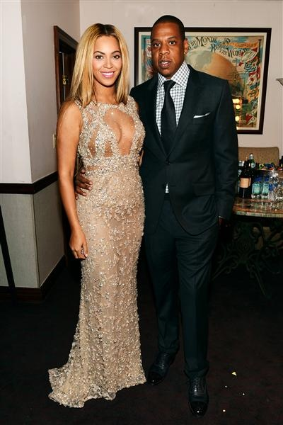 """POWER COUPLE!!! Beyonce and Jay-Z attend the New York premiere of her HBO Documentary Film """"Beyonce: Life Is But A Dream."""" See more celebs on Wonderwall: http://on-msn.com/VXbNuS"""