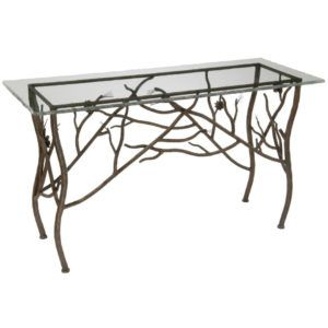 Iron Waterfall Console Table