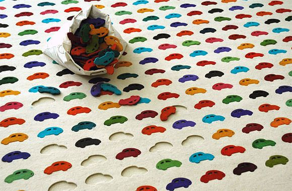 Cars Carpet for kids by Agnieszka Czop & Joanna Rusin
