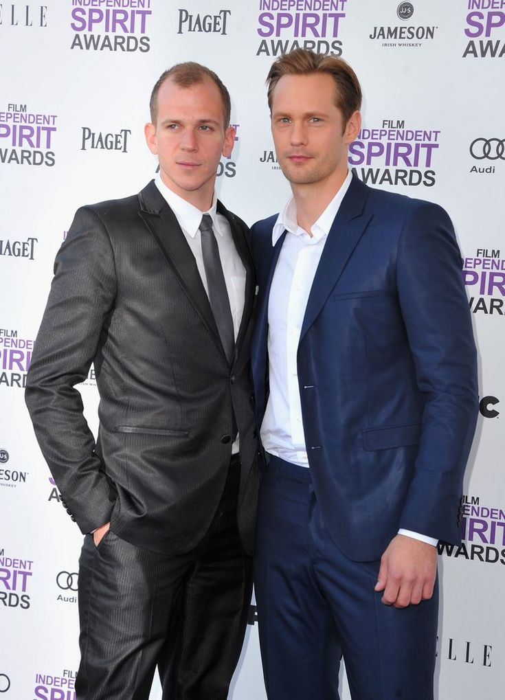 Gustaf & Alexander Skarsgård  (I did not know that they are brothers!)