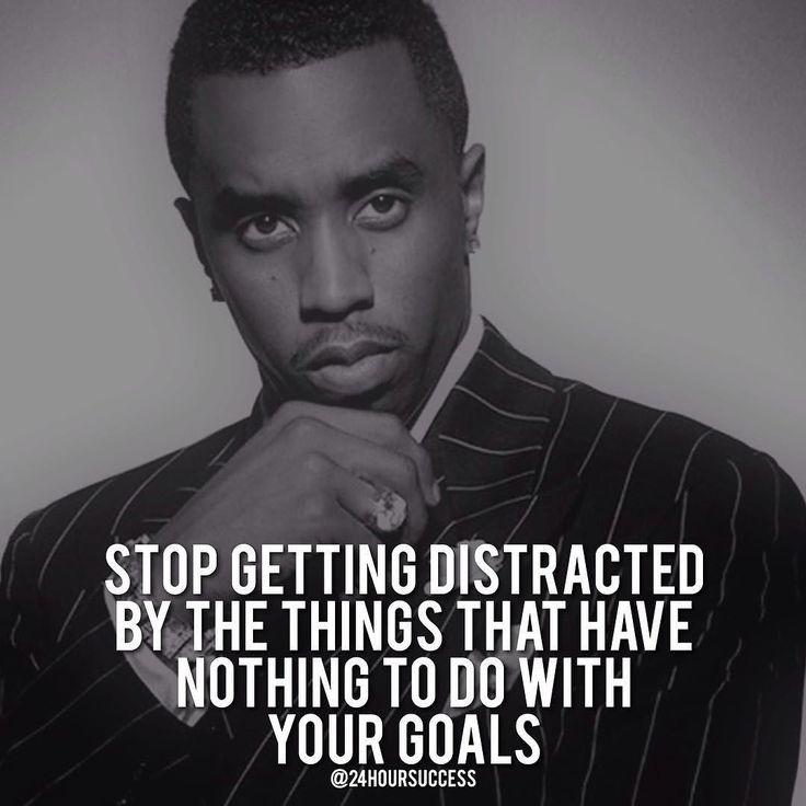 And focus - Follow One Course Until Successful  Via the one and only @shrinksdom  .  by @iamdiddy