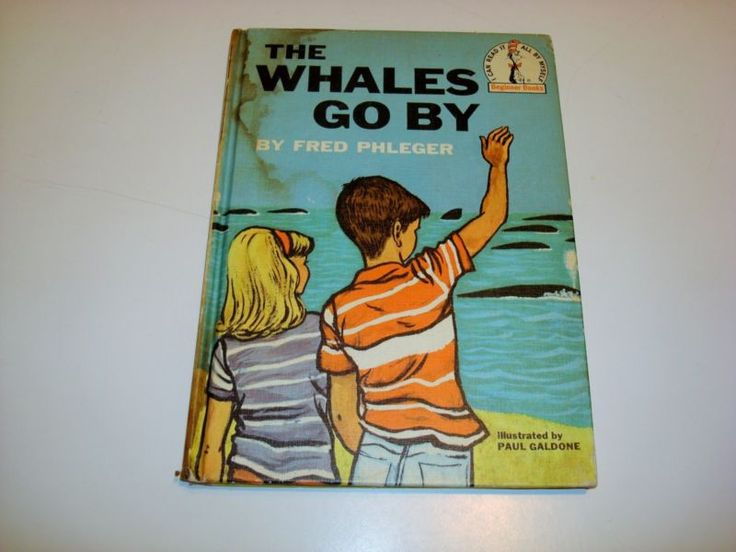 I CAN READ IT ALL BY MYSELF BEGINNER BOOK ~ THE WHALES GO BY VINTAGE 1959 BOOK - http://books.goshoppins.com/teen/i-can-read-it-all-by-myself-beginner-book-the-whales-go-by-vintage-1959-book/