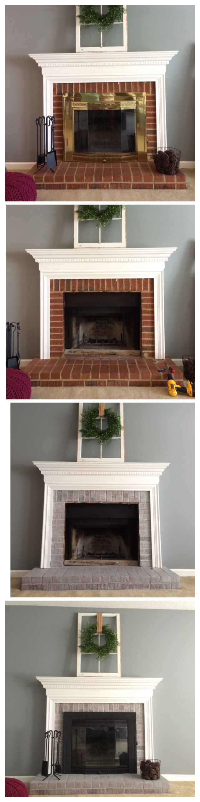Best 20+ Brass fireplace makeover ideas on Pinterest | Paint ...