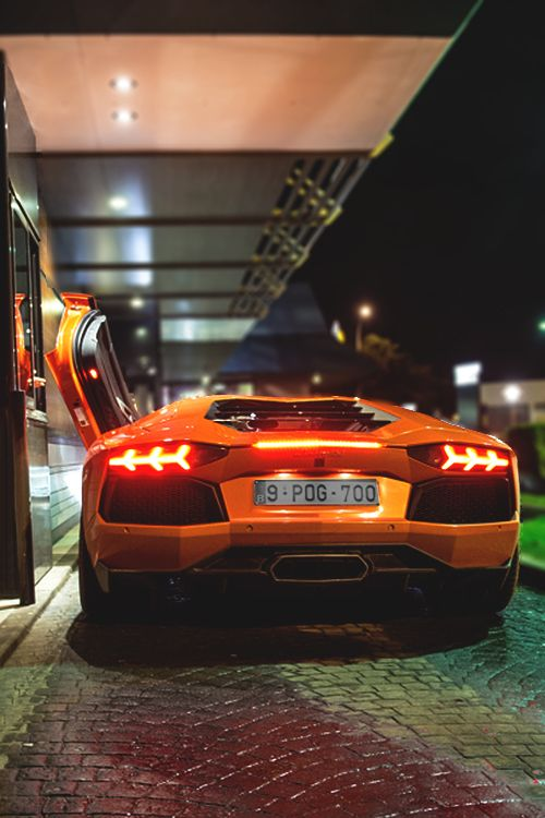 Night Moves- The McAventador sits too low to reach the drive-thru window | ~LadyLuxuryDesigns