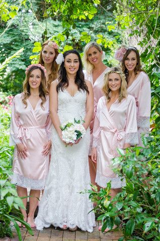 Robes | 15 Crucial Items You Need On Your Wedding Day, According To Pinterest
