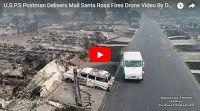 Santa Rosa Fires Drone Douglas Thron October 10, 2017 Hilton, Coffey, vineyards, fountaingrove
