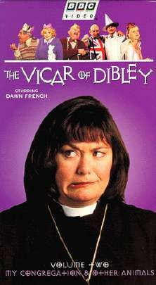The Vicar of Dibley - English comedy. This is my absolute favorite - completely obsessed. I've watched these episodes (all seasons) a hundred times and i laugh until i cry every time. Love it. Love you Dawn French.
