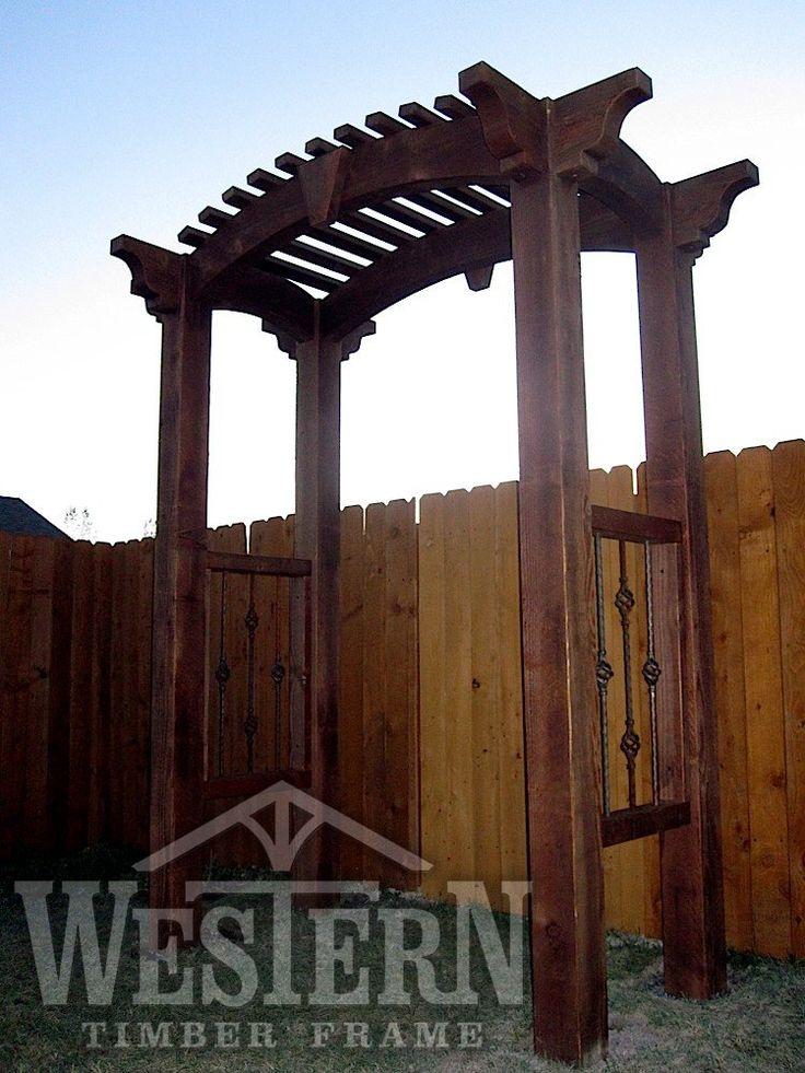 arbor trellises gallery arbor images trellis pics western timber frame