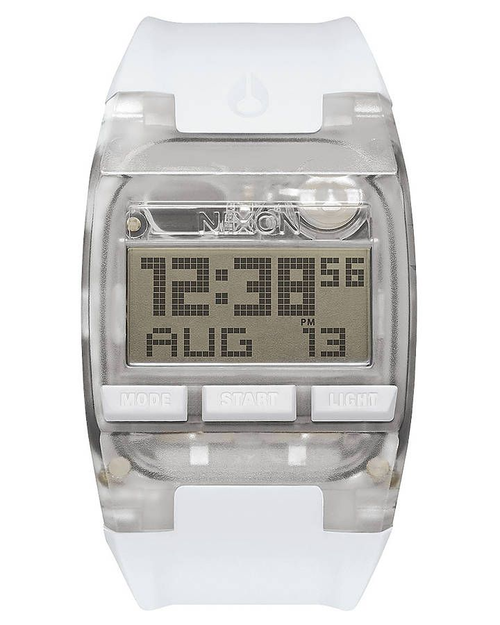 NIXON THE COMP WATCH - ALL WHITE