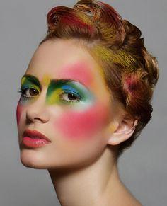 Artistic Makeup on Pinterest | Fantasy Makeup, Alex Box and Makeup