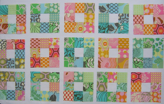 Nine Patch By Red Pepper Quilts Quilting Inspiration