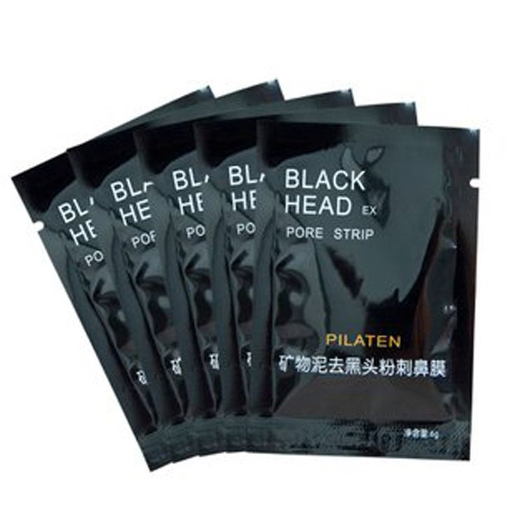 10pcs Minerals Conk Nose Blackhead Remover Face Mask Pore Cleanser Black Head Nose Strip Pore Black Mask