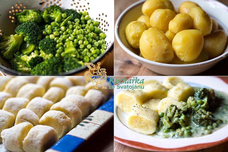 Kuchařka ze Svatojánu: ZELENÁ OMÁČKA S BRAMBOROVÝMI ŠPALÍČKY
