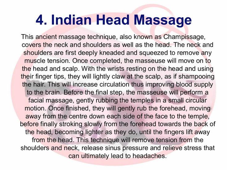 8 Bedste Indian Head Massage billeder på Pinterest Massage-3137