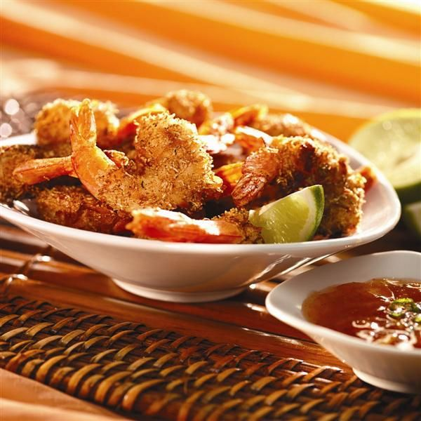 Crunchy Coconut Shrimp with Sweet Orange Marmalade Sauce from Smucker ...