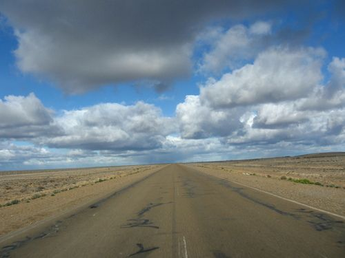 Ruta a Rio Gallegos, Santa Cruz, Argentina
