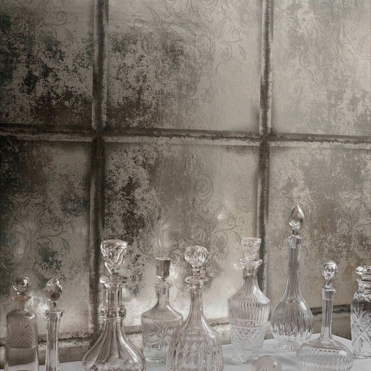 This gorgeous antique mirrored wallpaper is up on the blog today. It's more affordable than real antique mirror and will look just as effective. Use it for a luxe and glamorous bedroom or to bring some softness and warmth to a kitchen.