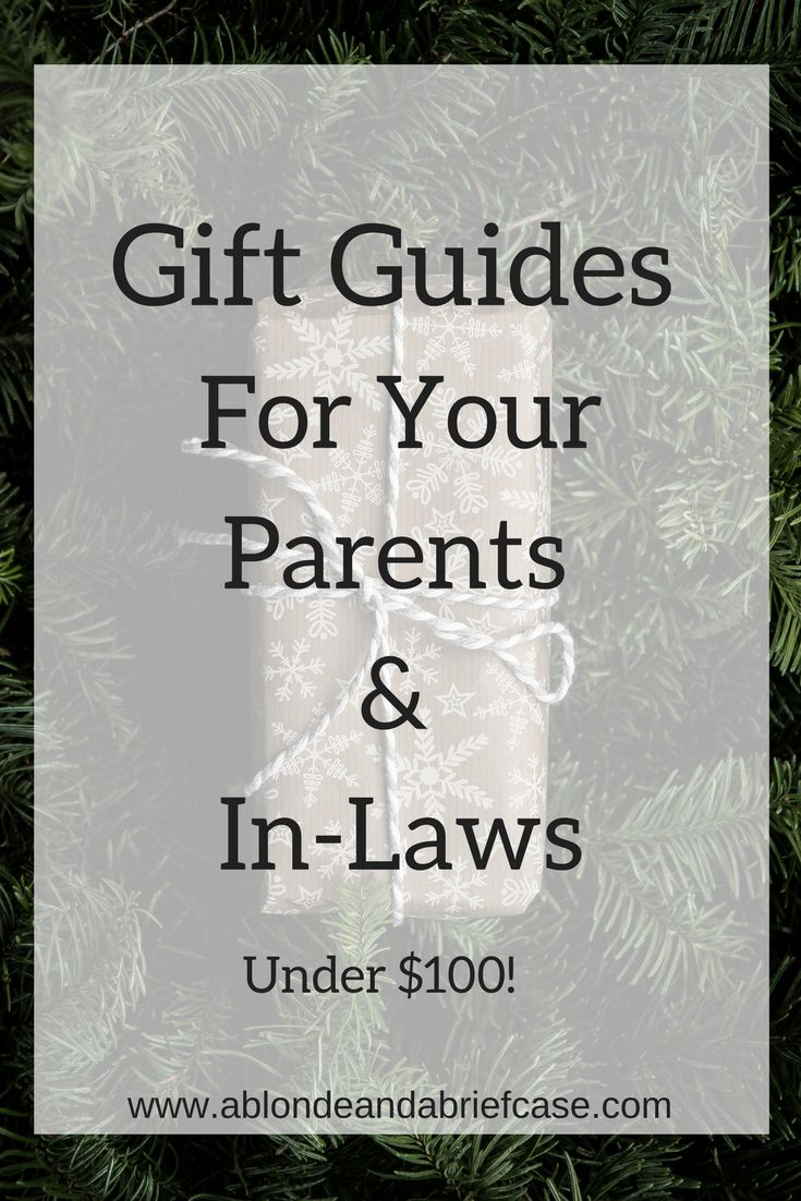Holiday Gift Guides for Parents & In-Laws   In law ...