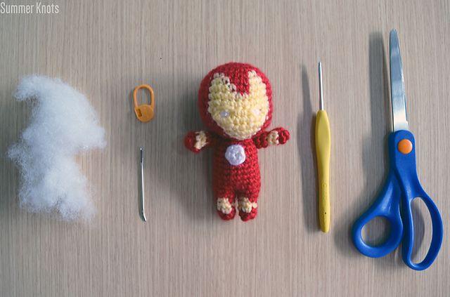 Ravelry: Iron Man Amigurumi pattern by Gabriel Tan