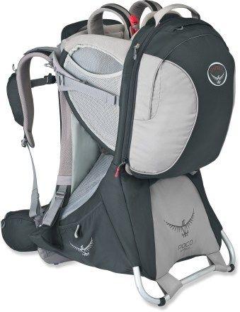 Osprey Poco Premium Child Carrier. . Basic Camping Gear when you have little children.