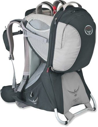 Osprey Poco Premium Child Carrier. . Basic Camping Gear when you have little children.