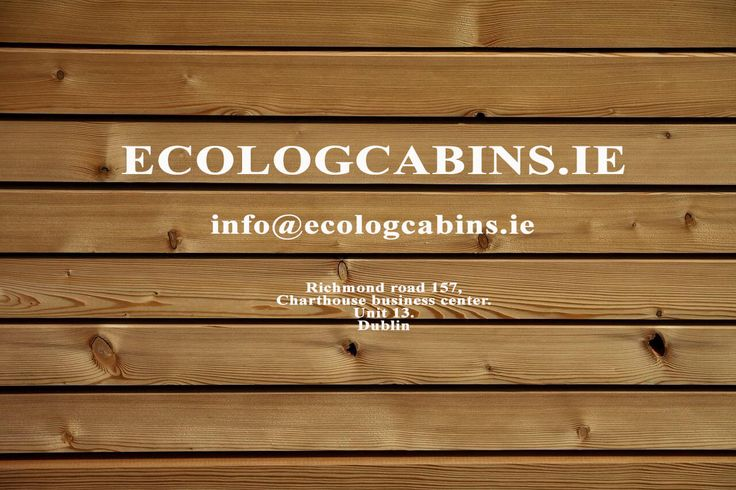 The best choice for log cabin in all of Ireland is Eco Log Cabins Ireland visit…