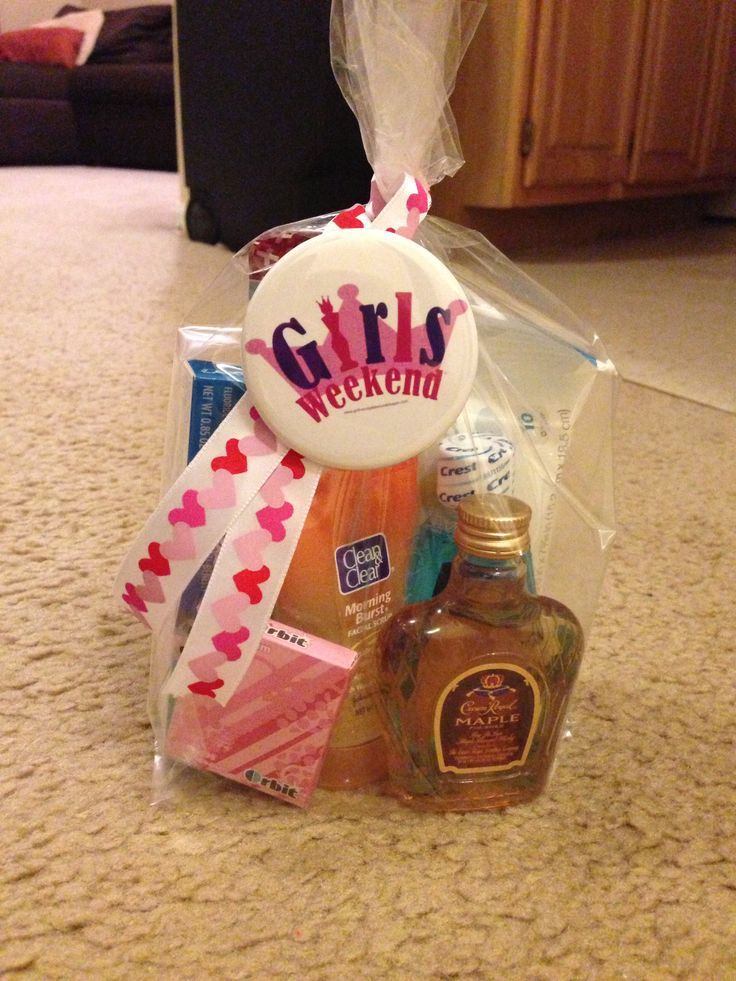 Girls Weekend Trip Little Goodie Bag