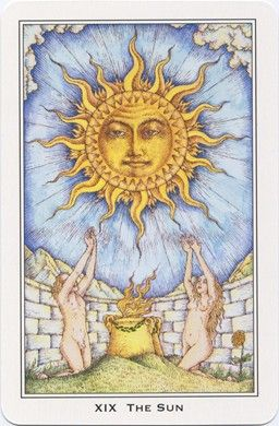 sun card in relationship reading