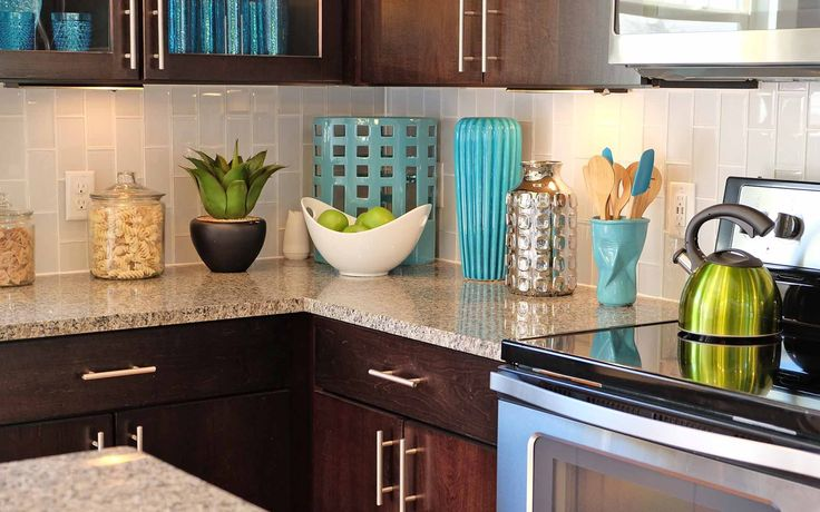 Add Pops Of Color As You Decorate Your New Kitchen Blues