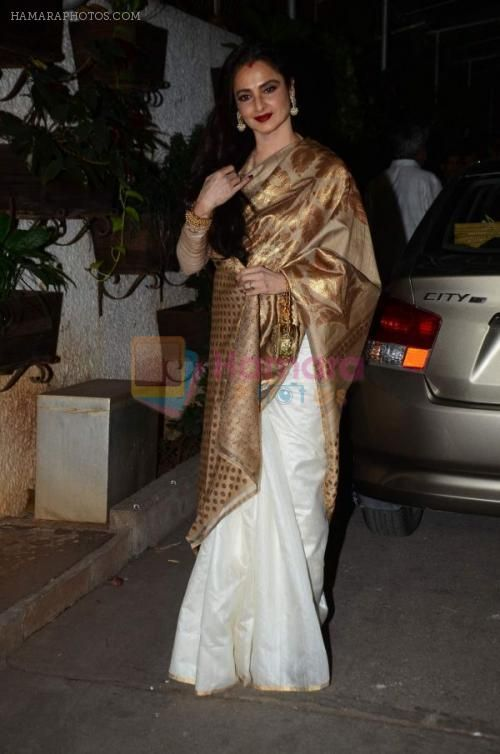 Rekha saree is just cool