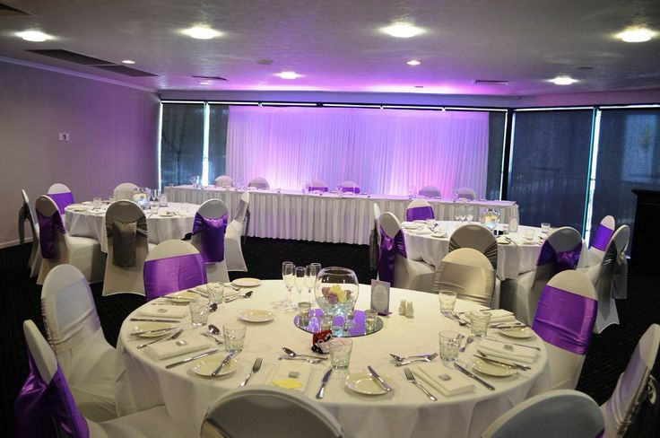 Mercure Townsville - Lakes Room - Wedding Ceremony - Purple - Pretty - Elegant