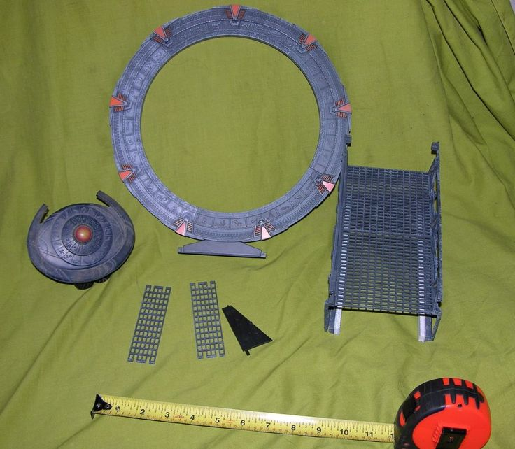 STARGATE GATE TOY PLAYSET FOR ACTION FIGURES GATE RING PORTAL MOVIE TV SERIES