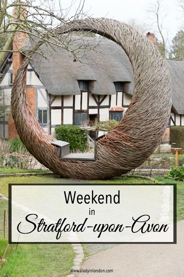 I have a weekend in Stratford-upon-Avon, and I'm determined to see everything. From the Shakespeare highlights to the Old Town, there's a lot to cover.