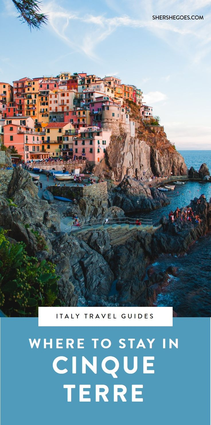 where to stay in cinque terre italy. which cinque terre village is the perfect place to base yourself? find out in today's italy travel guide. #cinqueterre, #italy, #europe