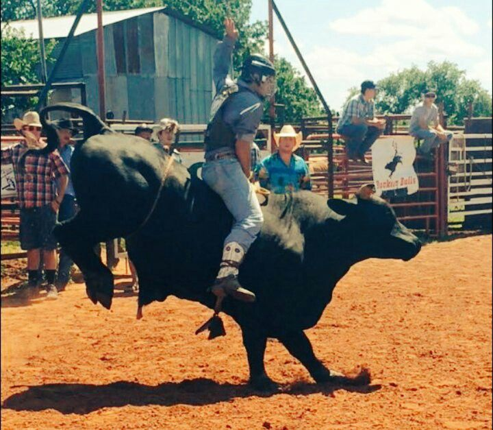 Awesome Buckin'  Rodeo Bull Riding Photo Sent in by Rider Jerred McEntire From Decatur Texas Team Cowboy Coffee Chew