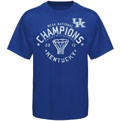 NCAA The Victory Kentucky Wildcats 2012 NCAA Men's Basketball National Champions Hoop T-Shirt - Royal Blue (Small) by Original Retro Brand, http://www.amazon.com/dp/B007R5BHFS/ref=cm_sw_r_pi_dp_9.2Fpb1JP73RJ