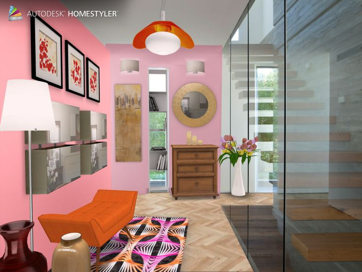 """Check out my #interiordesign """"Design for lady"""" from #Homestyler http://autode.sk/1cHndAK"""