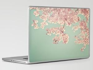 laptop: Cherries Blossoms, Ipad Skin, Colors Combinations, Laptops Covers, Laptops Cases, Laptops Skin, Animal Friends, Random Stuff, Macbook Pro