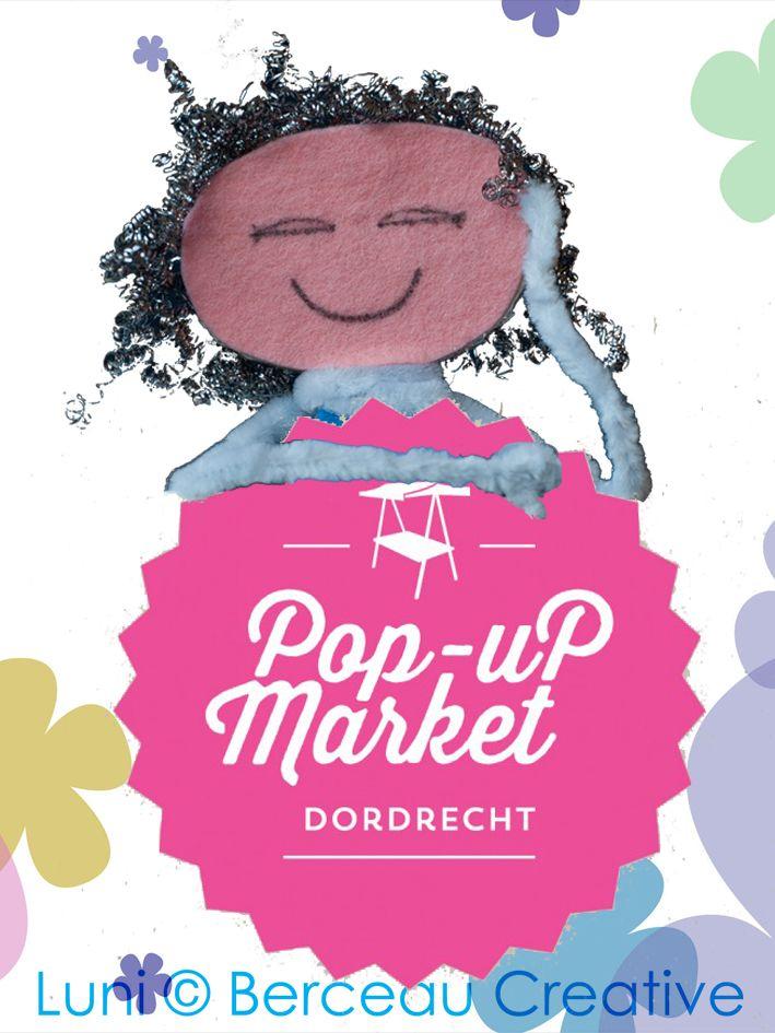 Luni staat op de Pop Up Market Dordrecht op zondag 31 augustus van 12.00 tot 17.00 uur. Kom je langs? Dat zou ik leuk vinden!
