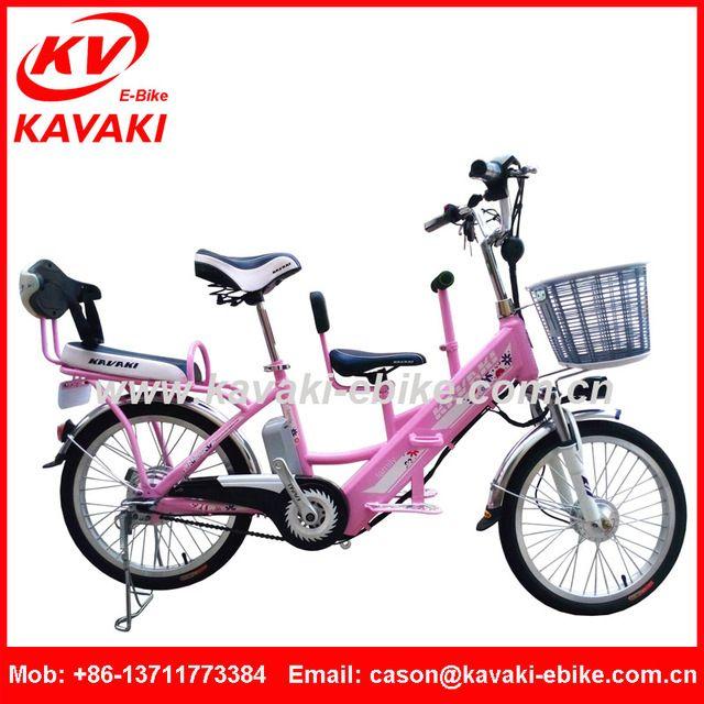 Source City Fashion Family Design Three Seat Body 48V Gear Motor Brushless Cargo Bike,Children Eletric Bike,Electric Lady Bike on m.alibaba.com