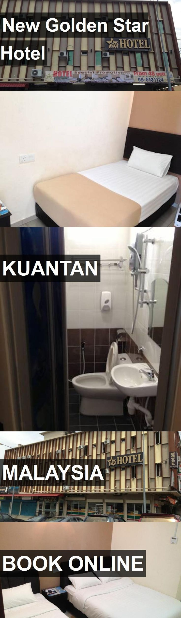 New Golden Star Hotel in Kuantan, Malaysia. For more information, photos, reviews and best prices please follow the link. #Malaysia #Kuantan #travel #vacation #hotel