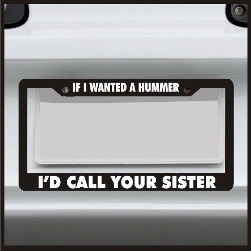 28 Best Images About Funny License Plate Frames On Pinterest