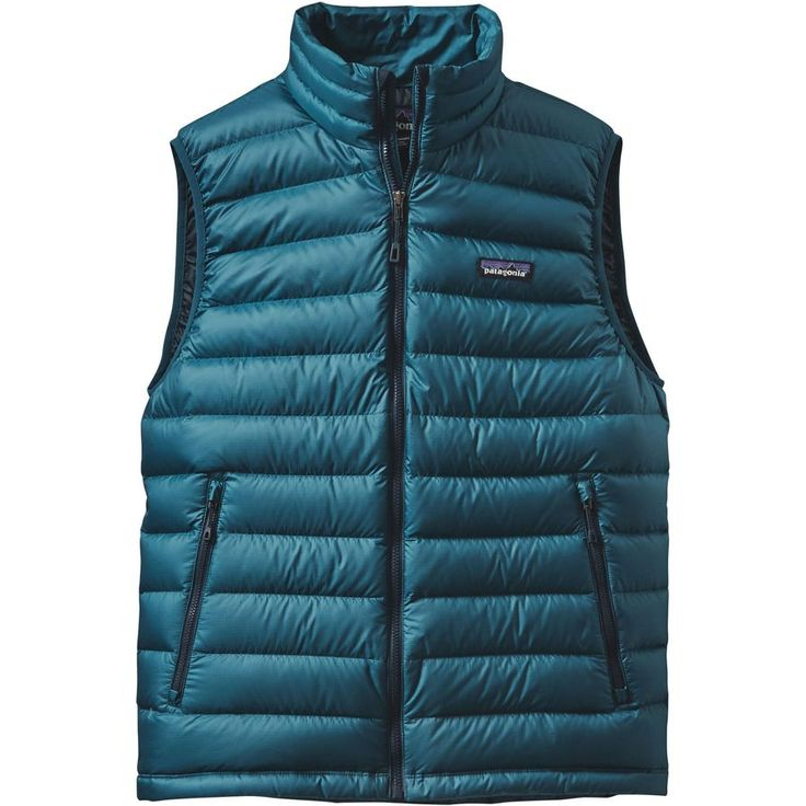 Patagonia - Down Sweater Vest - Men's - Deep Sea Blue